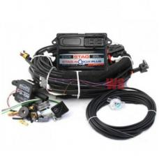 Комплект электроники STAG-4 QBOX PLUS 4 цил.