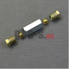 Фитинг соединительный для медной трубки D8-D8