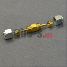 Фитинг соединительный для термопластиковой трубки Faro D6-D6