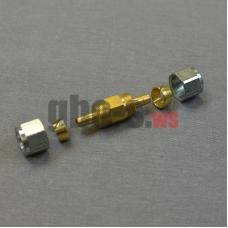 Фитинг соединительный для термопластиковой трубки Faro D8-D8