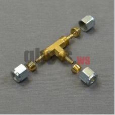 Тройник соединительный для термопластиковой трубки Faro D6х6x6