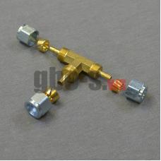 Тройник соединительный для термопластиковой трубки Faro D6х6x8