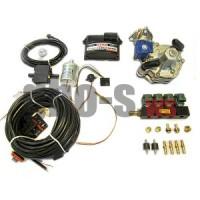 Комплект STAG-4 Q-BOX BASIC, ред. Alaska 120 л.с., ДТР, форс. Valtek тип 30, штуцера, ф. 1-1