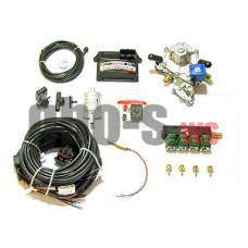 Комплект STAG-4 Q-BOX PLUS, ред. Artic 160 л.с., ДТР, форс. Hana Single, распред, штуцера, ф. 1-1