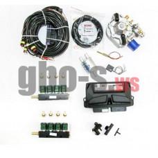 Комплект STAG-8 QMAX BASIC, ред. Antartic 340 л.с., ДТР, форс. Valtek тип 30, штуцера, ф. 1-2