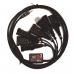 Профессиональный универсальный кабель для ГБО на 7 разъемов