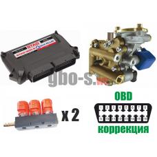 Установка ГБО STAG-300 QMAX PLUS, ред. Artic, ДТР, форс. Valtek, баллон 42 л.