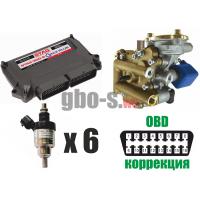 Установка ГБО STAG-300 QMAX PLUS, ред. Artic, ДТР, форс. Barracuda, баллон 42 л.