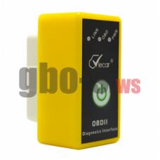 Сканер OBDII Viecar V1.5 с кнопкой включения