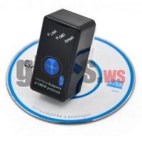 Сканер OBDII  Bluetooth ELM327 V1.5 с кнопкой включения